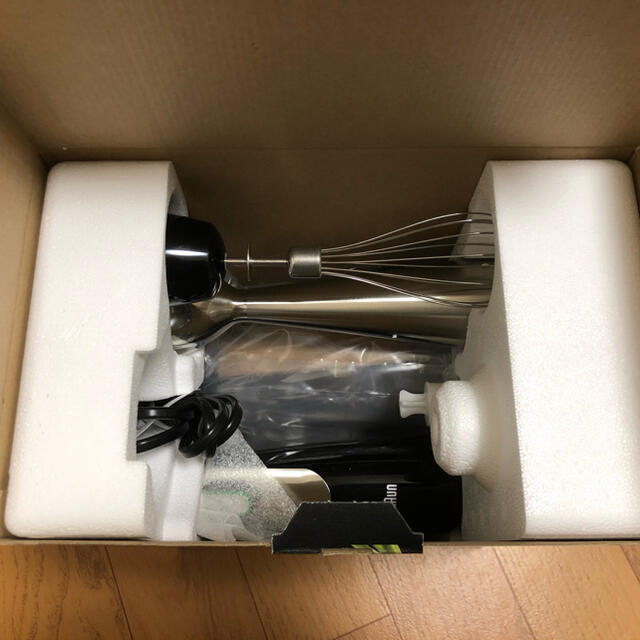 BRAUN(ブラウン)のブラウン ハンドブレンダー Multiquick7 MQ775 スマホ/家電/カメラの調理家電(調理機器)の商品写真