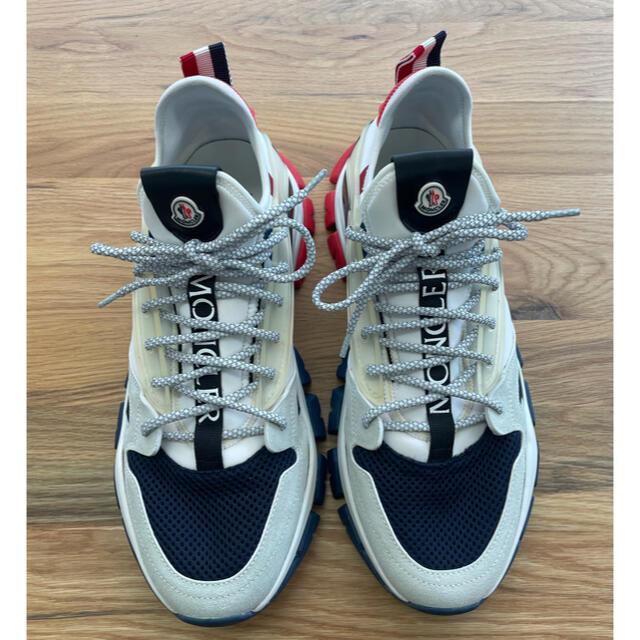MONCLER(モンクレール)のMONCLERモンクレール スニーカー 43 27.5cm 28.0cm メンズの靴/シューズ(スニーカー)の商品写真
