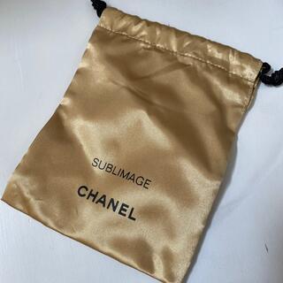 CHANEL - 未使用 CHANEL サブリマージュの巾着ポーチ