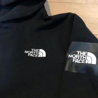 THE NORTH FACE - ノースフェイス パーカー スクエアフーディー M 黒