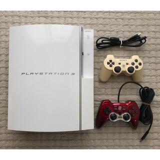 プレイステーション3(PlayStation3)のPS3本体 CECHH00 コントローラー2つ付き(家庭用ゲーム機本体)