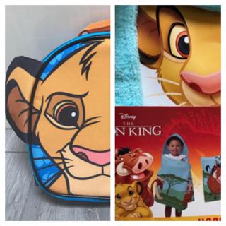 Disney - 【シンバ】ランチバッグ  ハンドバッグ