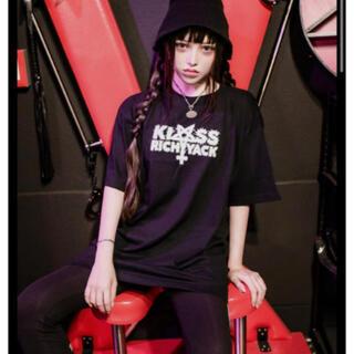 ミルクボーイ(MILKBOY)のKRY TENOHIRA ブラック BIG Tシャツ新品KRYCLOTHING (Tシャツ(半袖/袖なし))