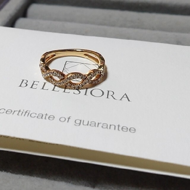 agete(アガット)のベルシオラ BELLESIORA  ダイヤリング レディースのアクセサリー(リング(指輪))の商品写真