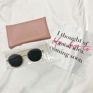 snidel - 【Her lip to】Sun Glasses / Tear Drop