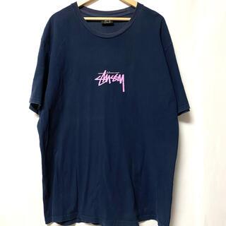 STUSSY - 【stussy】ステューシー ワンポイント オーバーサイズ Tシャツ