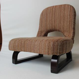 ヤマゼン(山善)の背もたれ付あぐら座椅子 山善 座椅子 AGR-45(座椅子)