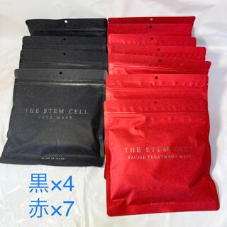 【THE STEM CELL】フェイスマスク 30枚入り 2種 11袋(パック/フェイスマスク)
