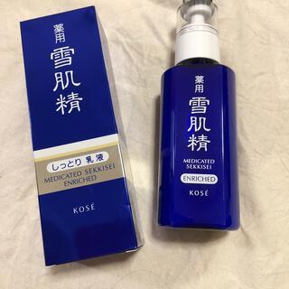コーセー(KOSE)のKOSE、雪肌精  エンリッチ140ml (乳液/ミルク)