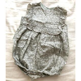 Caramel baby&child  - june little closet リバティベビーロンパース80