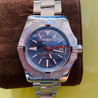 ブライトリング(BREITLING)のブライトリング アベンジャー GMT ステンレススチール BREITLING (腕時計(アナログ))