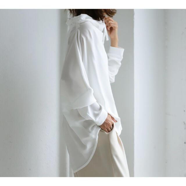 antiqua(アンティカ)の【新品】変形トップス サイズF レディースのトップス(シャツ/ブラウス(長袖/七分))の商品写真