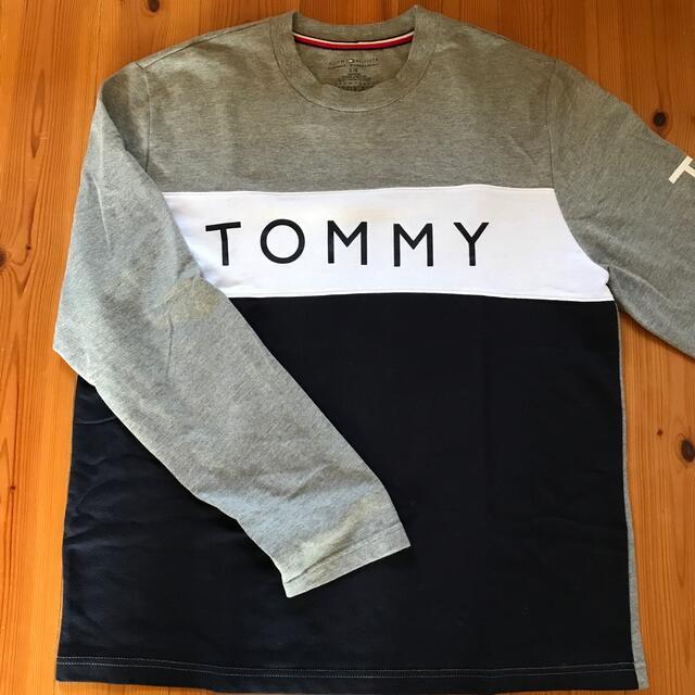 TOMMY HILFIGER(トミーヒルフィガー)のトミーヒルフィガー 長袖ロングスリーブシャツ メンズのトップス(Tシャツ/カットソー(七分/長袖))の商品写真