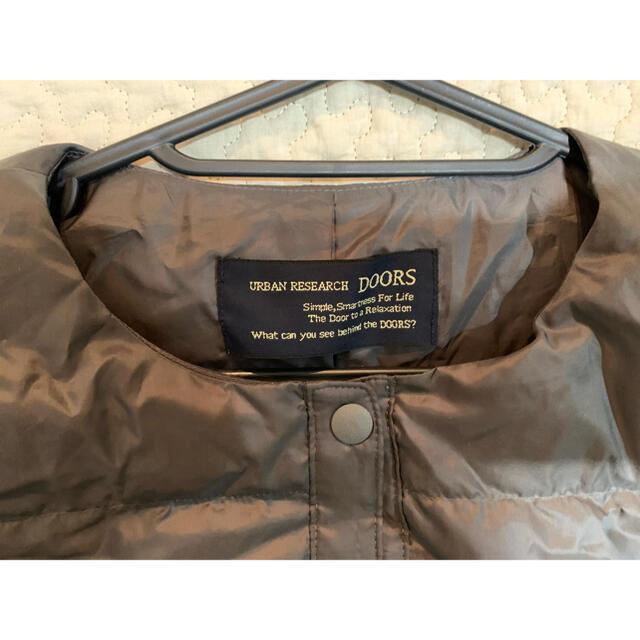 DOORS / URBAN RESEARCH(ドアーズ)の最終お値下げ アーバンリサーチ ドアーズ インナーダウン レディースのジャケット/アウター(ダウンジャケット)の商品写真
