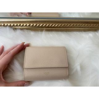 celine - CELINE トリフォールド コンパクトウォレット ミニ財布