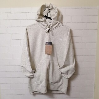 THE NORTH FACE - 【新品】THE NORTH FACE SWEAT FZ HOODIE L 白