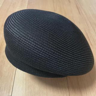 CA4LA - 【ca4la】麦わら アシンメトリー ベレー帽