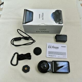 CASIO - CASIO アクション全天周カメラ EX-FR200 ブラック色