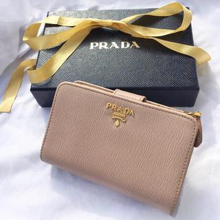 PRADA - ♡ PRADA プラダ 二つ折り財布 美品 ♡