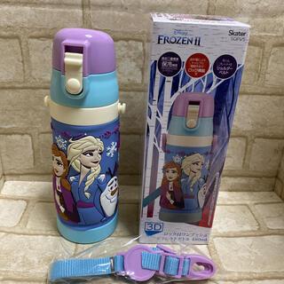新品 アナと雪の女王2 真空二重構造ステンレスダイレクトボトル 水筒 480ml(弁当用品)