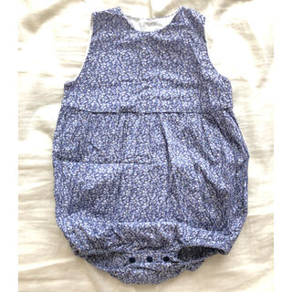 Caramel baby&child  - june little closet リバティハンドメイドロンパース80