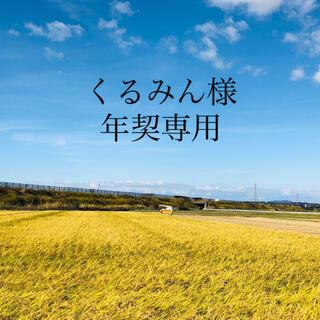 【くるみん様 年契専用】令和2年度 あきたこまち精米80Kg(米/穀物)
