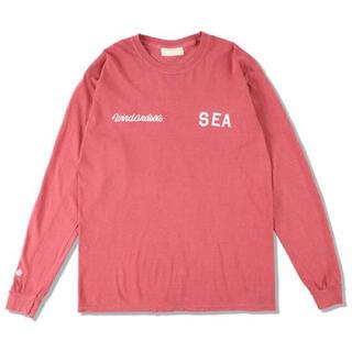 シー(SEA)のウィンダンシー WDS (LEAGUE) L/S T-SHIRT(Tシャツ/カットソー(七分/長袖))