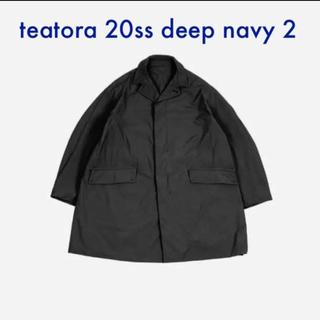 COMOLI - TEATORA テアトラ Device Coat p DEEP NAVY 2