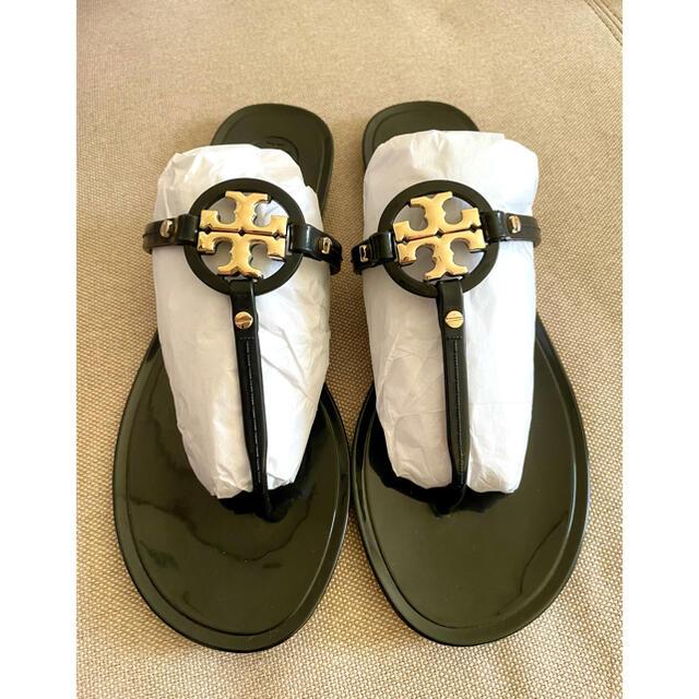 Tory Burch(トリーバーチ)のTory Burch Mini Miller Flat Tong Sandal  レディースの靴/シューズ(サンダル)の商品写真