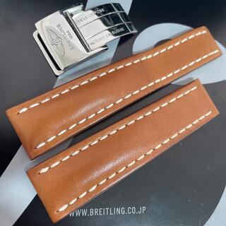 ブライトリング(BREITLING)の22mm 434X BREITLING ブライトリング カーフベルト Dバックル(レザーベルト)