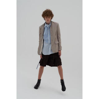 SUNSEA - 20SS masu ZIP-UP GABARDINE BLOUSON