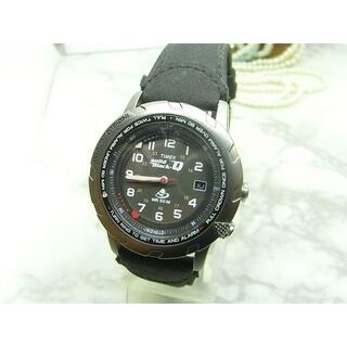 タイメックス(TIMEX)のタメックス TIMEX Solid Black-Q メンズ ウォッチ(腕時計(アナログ))
