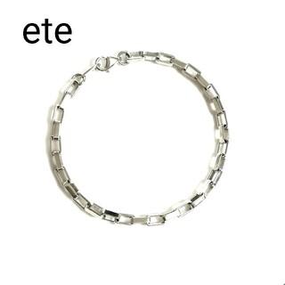 ete - エテ ete シルバーブレスレット (美品)