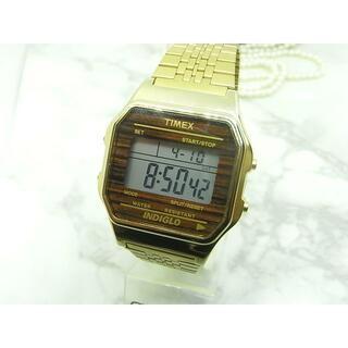 タイメックス(TIMEX)のヴィンテージ タイメックス TIMEX INDIGLO デジタル ウォッチ(腕時計(デジタル))