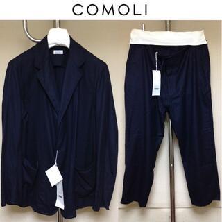 COMOLI - 新品 comoli 20aw ウールフラノジャケット セットアップ