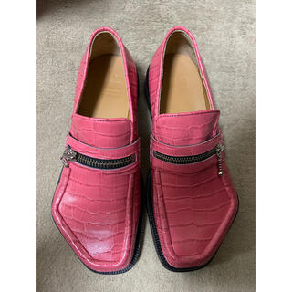 MAGLIANO 20SS MONSTER LOAFER ZIPPED PINK