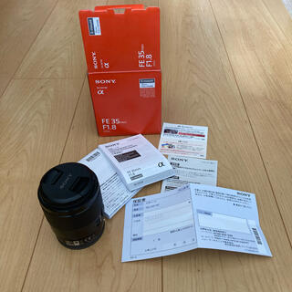 SONY - SONY SEL35F18F 35mm F1.8 フルサイズ