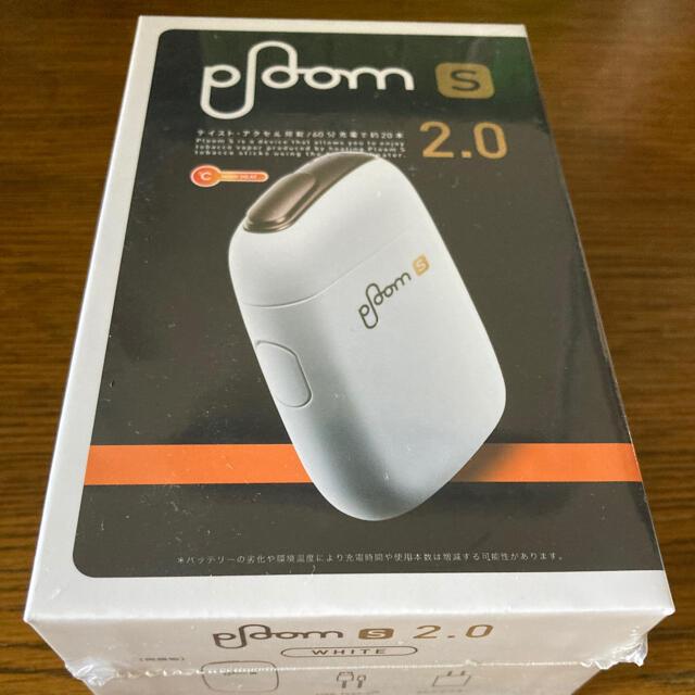 PloomTECH(プルームテック)のploom s スターターキット2.0バージョン ホワイト おまけ付き メンズのファッション小物(タバコグッズ)の商品写真
