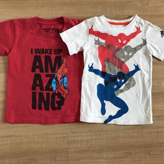 adidas - アディダス   スーパーマン Tシャツ 110 4T5T