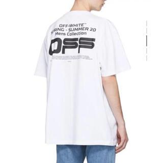 オフホワイト(OFF-WHITE)の☆相場以下☆オフホワイト/tシャツ オーバーサイズ XL以上(Tシャツ/カットソー(半袖/袖なし))