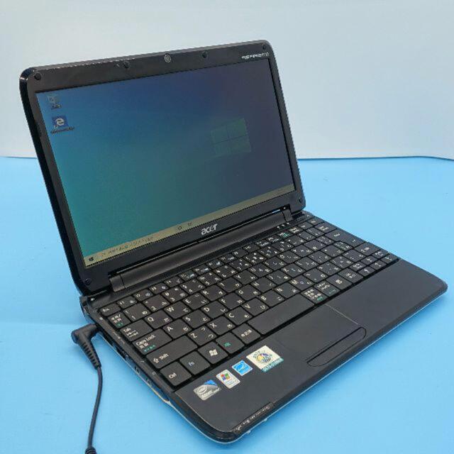 acer ASPIRE one ZA3 Atom Win10 ノートパソコン スマホ/家電/カメラのPC/タブレット(ノートPC)の商品写真