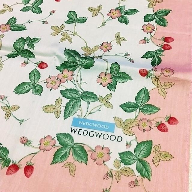 WEDGWOOD(ウェッジウッド)のウエッジウッド ハンカチ レディースのファッション小物(ハンカチ)の商品写真