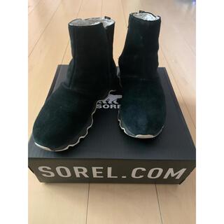 ソレル(SOREL)のSOREL キネティック ショート ブーツ 黒 ソレル NL3128  防水 (ブーツ)