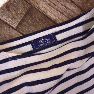 セントジェームス(SAINT JAMES)の美品 ❤︎ SAINT JAMES ボーダーカットソー 長袖(Tシャツ(長袖/七分))