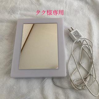 ムジルシリョウヒン(MUJI (無印良品))の無印良品 LEDアクリルミラーライト(卓上ミラー)