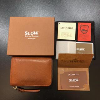 土屋鞄製造所 - SLOW ヌメ革 L字ファスナー ミドルウォレット 折財布