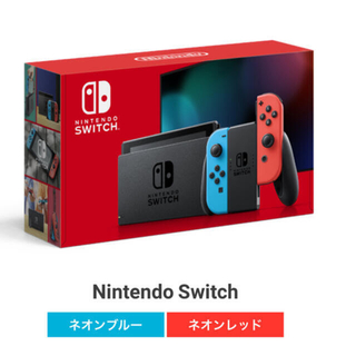 Nintendo Switch - Nintendo Switch JOY-CON ネオンブルー/ネオンレッド