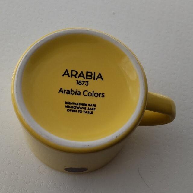 ARABIA(アラビア)のアラビア カラーズ イエロー インテリア/住まい/日用品のキッチン/食器(グラス/カップ)の商品写真
