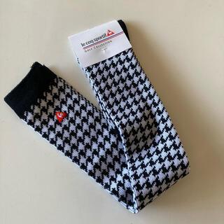 ルコックスポルティフ(le coq sportif)の新品 ゴルフウェア ルコック   ニーハイソックス 靴下 レディース  (ウエア)
