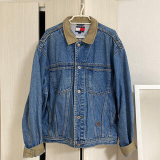 TOMMY - TOMMY JEANS トミージーンズ デニムジャケット Gジャン M